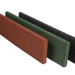 Rubber side tiles